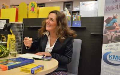 Kickstart in ein grandioses Jahr 2016: Buchlesung im Bunten Bücherladen Filderstadt
