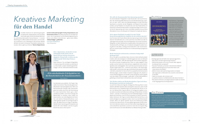 Kreatives Marketing für den Handel